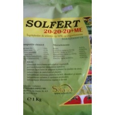 SOLFERT 20-20-20+ME 1KG